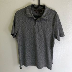 Men's Perry Ellis Gray Polo
